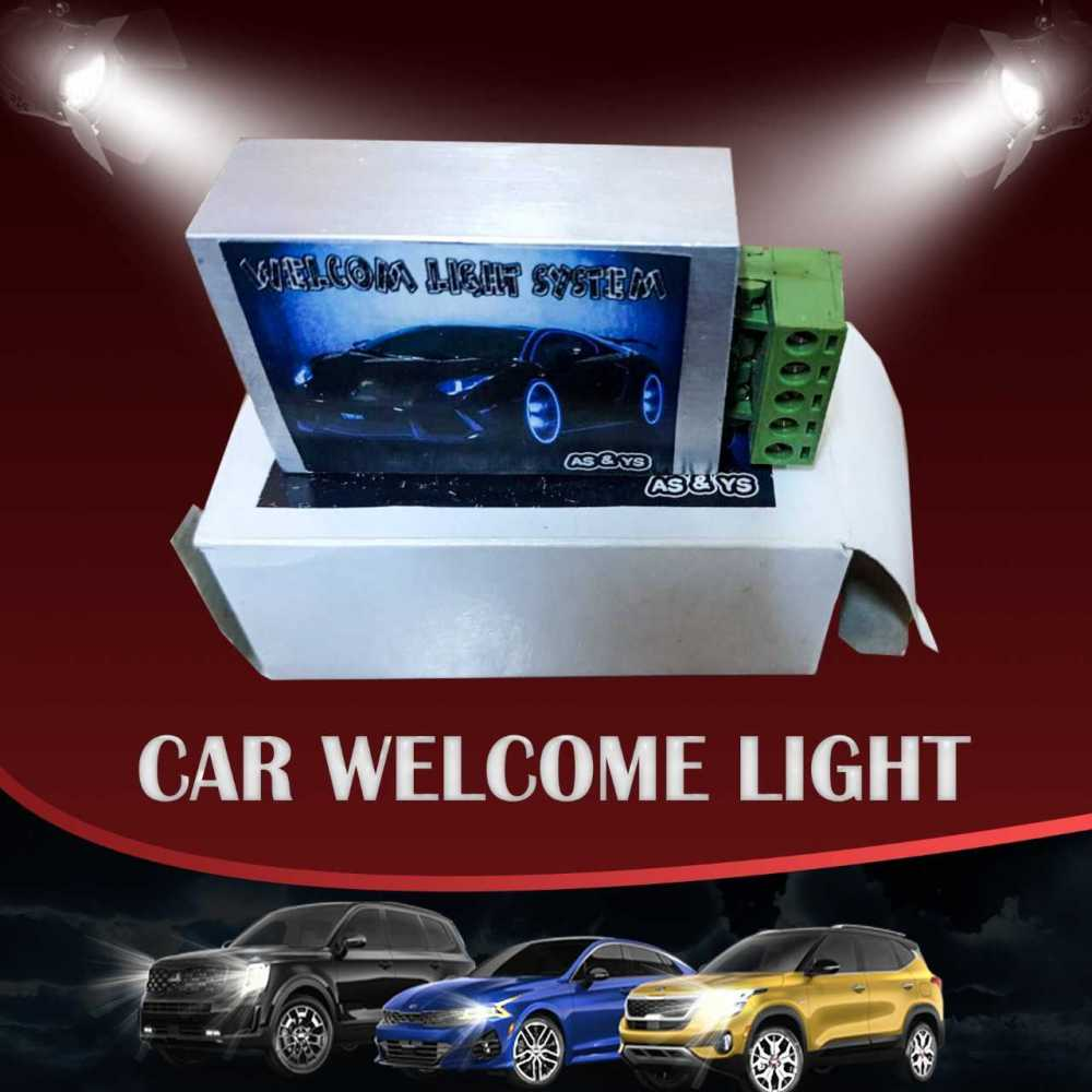 Car Welcome light